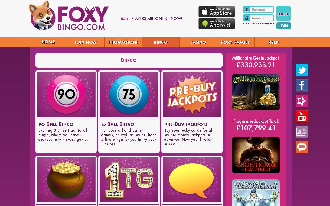 Top Bingo Sites